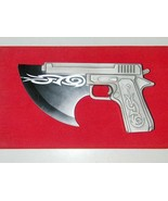 1347 Very Rare - Danmaku Hatchet Gun - 45 cal Pistol w/ Hatchet - For Di... - $100.00
