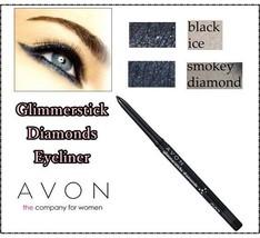 Avon True Colour Glimmersticks Diamonds Eyeliner Automatic Pencil 2 Shades - $5.39