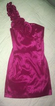 Forever 21 Hot Pink One Shoulder Mini Dress Size S/P - $10.00