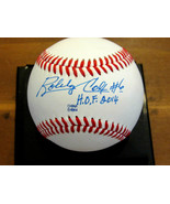 BOBBY COX # 6 HOF 2014 ATLANTA BRAVES YANKEES MANAGER SIGNED AUTO BASEBA... - $118.79