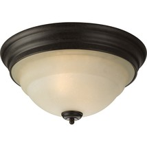 Forged Bronze Ceiling Flushmount Progress Lighting Torino Collection P3184-77 - $43.36