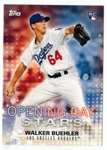 WALKER BUEHLER 2018 Topps OPENING DAY STARS #ODS-WB ROOKIE Card - $7.95