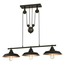 Westinghouse Lighting 6332500 Iron Hill Three-Light Indoor Island Pulley... - $104.56