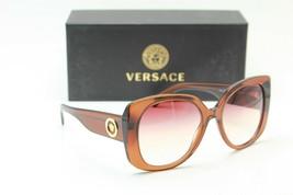 New Versace Mod. 4387 5324/0P Brown Gradient Authentic Frame Sunglasses 56-19 - $351.56