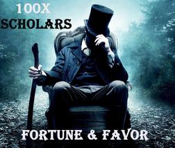 100X 7 Scholars Fortune Favor Of The Gods Gratia Fortunum Master High Magick - $99.77