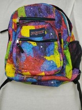 JanSport Big Student Backpack - 5 Zippers Space Tie Dye - $30.00