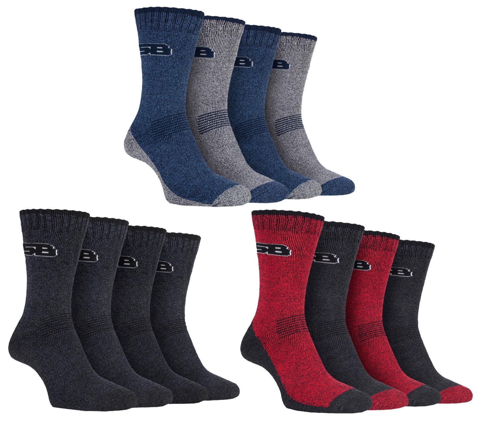 Storm Bloc - 4 Pack Mens Lightweight Summer Hiking Work Socks for Hot Weather - $14.99