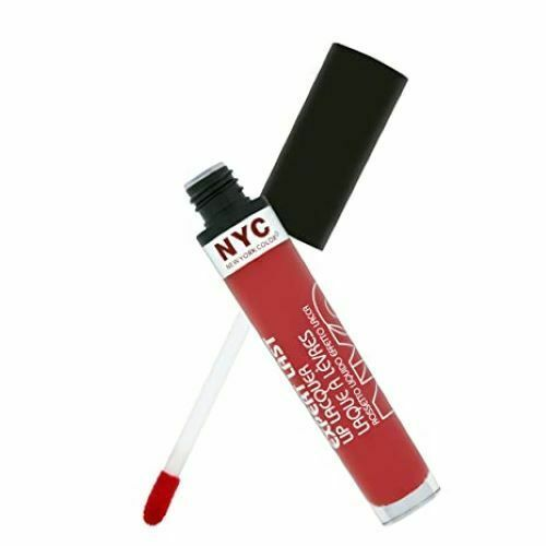 N.Y.C. New York Color Expert Last Lip Lacquer, #500- Rockaway Ruby, 0.12 oz - $8.15
