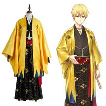 Fate Grand Order Cosplay Gilgamesh Kimono Costume Outfit - $129.99+