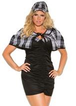 Sassy Detective Sexy Costume - Plus Size - $22.95