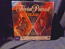 Trivial Pursuit Team Game Adult Version - 2 Teams - NISB 2009 - $4.90