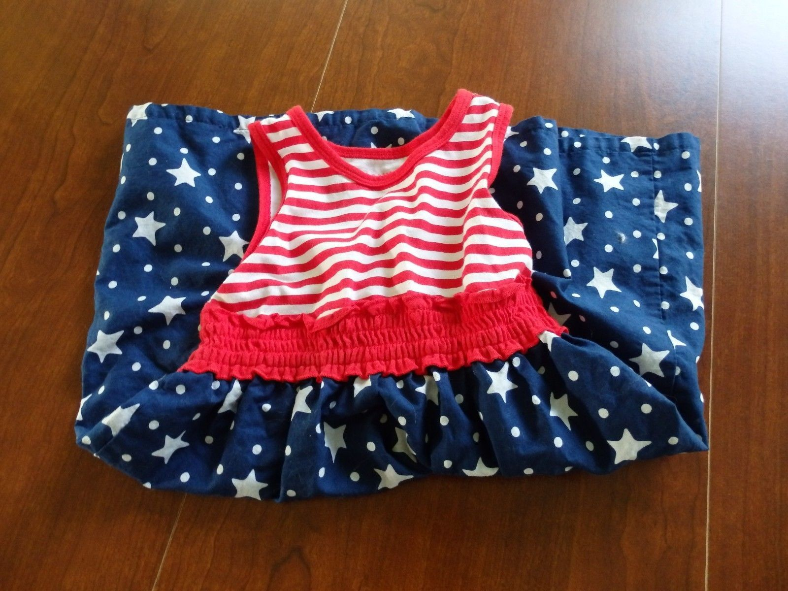 b00ab0d9fea Girl s Red White Blue Dress Jumper