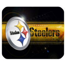 Mouse Pad Professional American Football Pittsburgh Steelers Logo For Ga... - $76,34 MXN