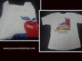 Teacher An American Tradition T-Shirt Nwot Sz Large Anvil Pre-Shrunk - $8.99