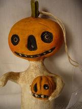 Bethany Lowe Halloween Little Pumpkin Head Ornament no. HH9220 image 3