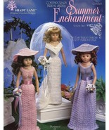 "Summer Enchantment Vol 2 Bridal 15"" Fashion Doll Shady Lane Crochet Pattern - $6.46"
