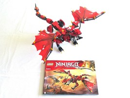 ONLY THE DRAGON from LEGO NINJAGO Masters of Spinjitzu Firstbourne 70653  - $47.99