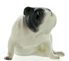 Hagen Renaker Pedigree Dog Bulldog Black and White Ceramic Figurine image 11