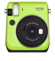 Fujifilm Instax mini 70 Kiwi Green with Rainbow Film / Battery - $51.40