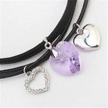 SHDEDE Fashion Jewelry Necklaces Pendants Vintage Heart Crystal from Swarovski H image 2
