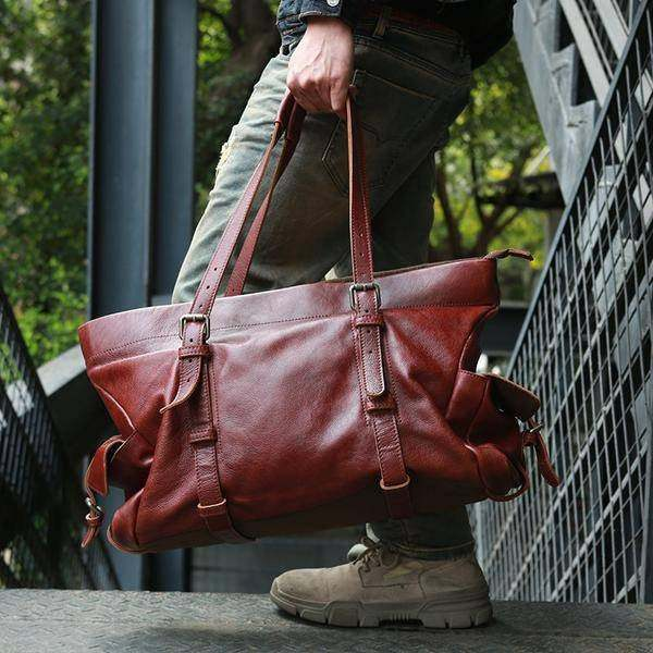 On Sale, Tote Bag, Full Grain Leather Shoulder Bag, Handmade Men Bag, Laptop Bag image 3