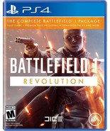 PS4 Battlefield 1 Revolution Edition Playstation 4 THE COMPLETE PACKAGE New - $24.99