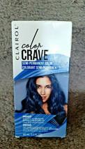 Clairol Color Crave Semi-permanent Hair Color, Indigo - New slight box damage - $7.91