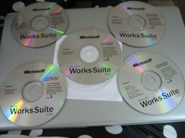 Microsoft Works Suite 2005 (PC, 2004) - Discs Only!!! - $9.89