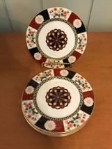 "Mikasa Shogun Bone China Bread & Butter Plate 6 1/2"" Japan Set of 4 - $18.99"