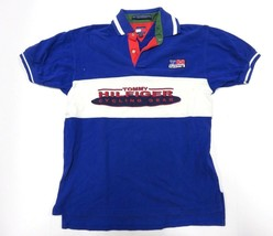 90s Tommy Hilfiger CYCLING Polo Shirt Adult Men's Size X-Large 100% Cotton - £77.51 GBP