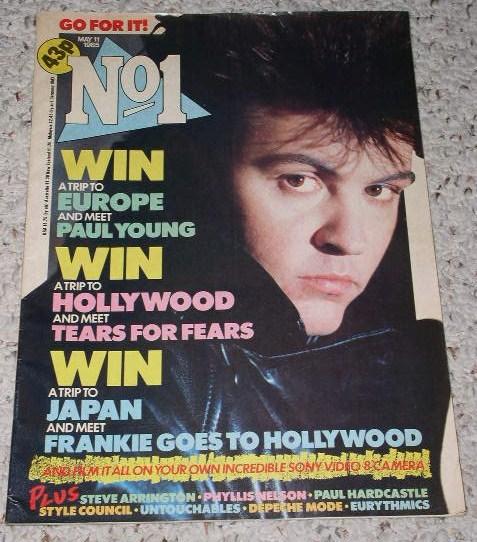 Paul young no 1 mag may 1985