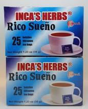Rico Sueño 50 Pcs Tea Bag 100% Te Natural Para Dormir Placenteramente !! - $12.99