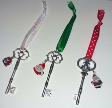 Large SILVER SANTA'S MAGIC KEY - for houses without a Chimney - Hand Made - $4.00