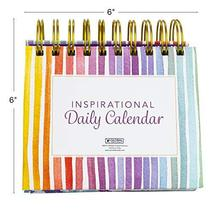 Motivational & Inspirational Perpetual Daily Flip Calendar with Self-Standing Ea image 5