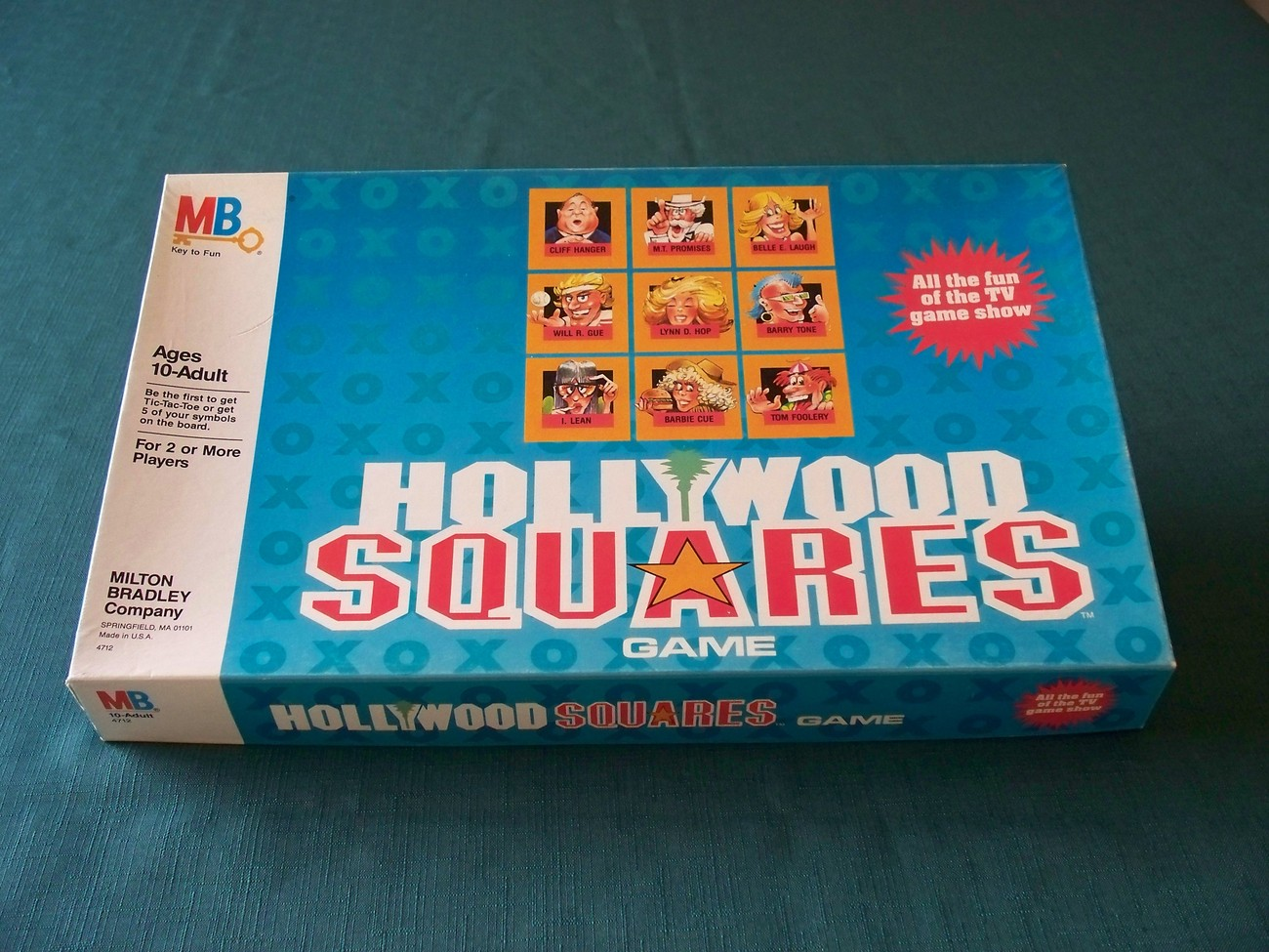 Hollywood Squares Game Milton Bradley 1986 Complete