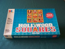 Hollywood Squares Game Milton Bradley 1986 Complete image 1