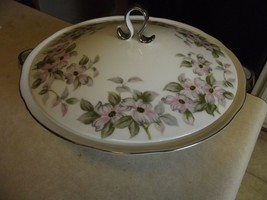 Bellaire Trellis covered round serving bowl 1 available - $30.64