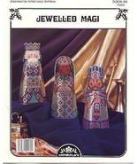 3 Kings~Jewelled Magi Cross Stitch Pattern - $4.00