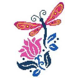 Primary image for Dragonfly 1 cross stitch chart Cross Stitch Wonders