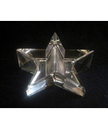 Optical Crystal Star Paperweight Elegant Cut No... - $24.99
