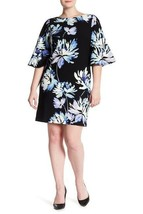 Vince Camuto Scuba Flare Sleeve shift Dress, size 14, originally $158, #A1042 - $69.64