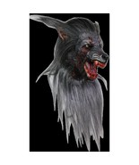 Black Werewolf Adult Latex Halloween Mask - $158.39