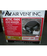 AIR VENT Exhaust whole house 1500 CFM Power Roof Mount Attic Fan w therm... - $148.49
