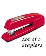 Swingline - 747 Full Strip Red Stapler - Lot of 2  - $24.74