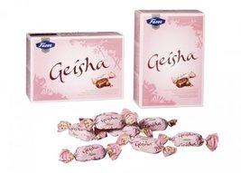 5 Boxes of Fazer Geisha Milk Chocolate with Hazelnut Filling 1750g 62 Oz Finland image 3