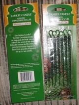 6 new 6 packs yankee candle scented icicles balsam & cedar - $25.00