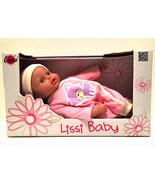 Lissi My First Baby Doll Girl Pink Outfit German 10 inches Age 2 and Up - $16.82