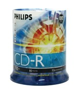 Philips CDR80D52N/650 700MB 80-Minute 52x CD-Rs (100-ct Cake Box Spindle) - $36.97
