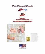 14-Ginger Detox Foot Pads Super Extra Strength Detox 100% Natural-US SELLER - $7.95+