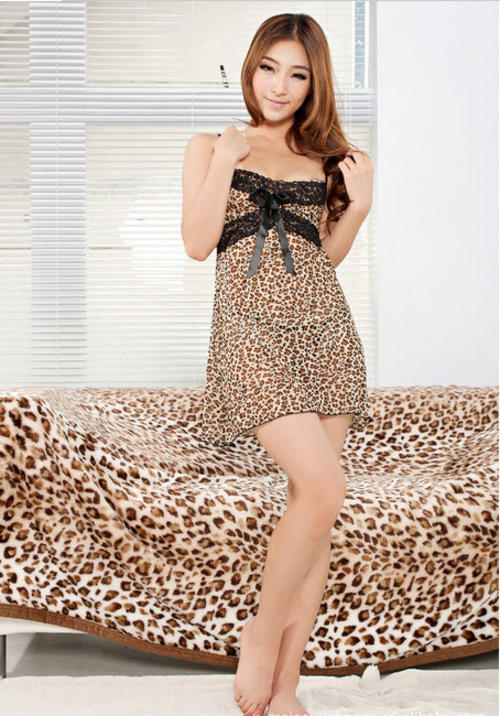 8021 Sexy halter dress with leopard skin print,Free size, fit to s/m/l,